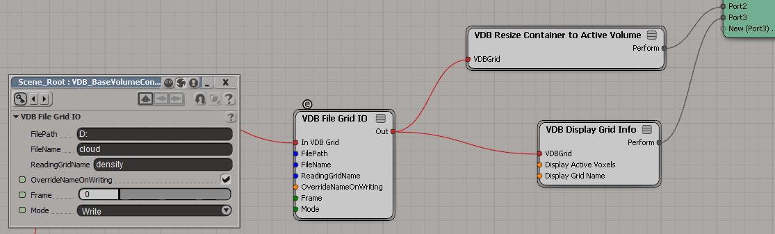 OpenVDB in Softimage