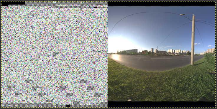 Broken EXR image saved from GIMP