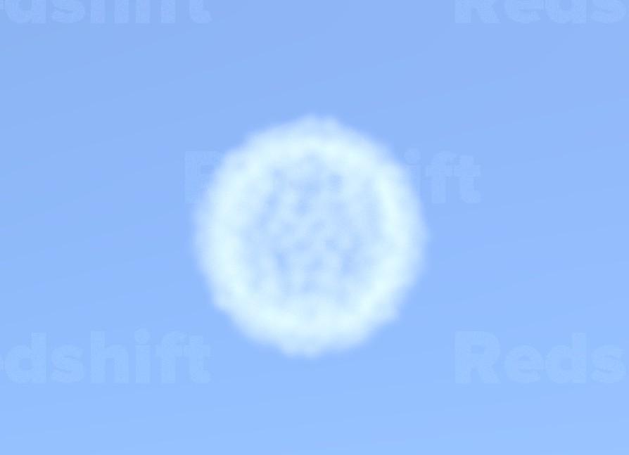 vdb cloud first render
