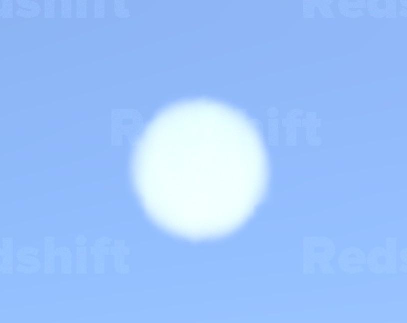 solid vdb cloud sphere