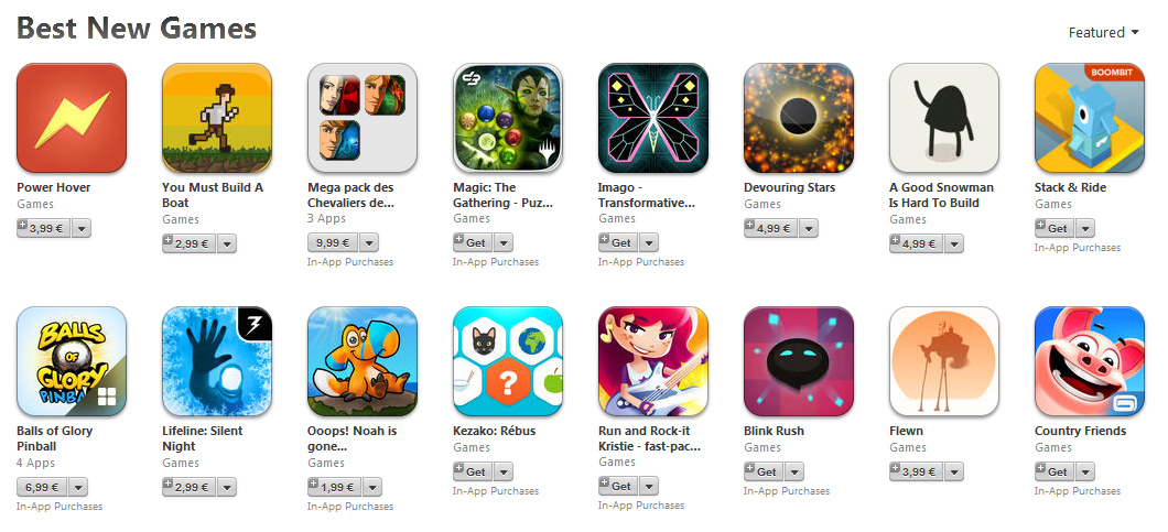 Run and Rock-it Kristie featured on the App Store