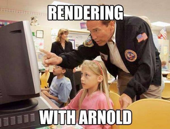 rendering with Arnold