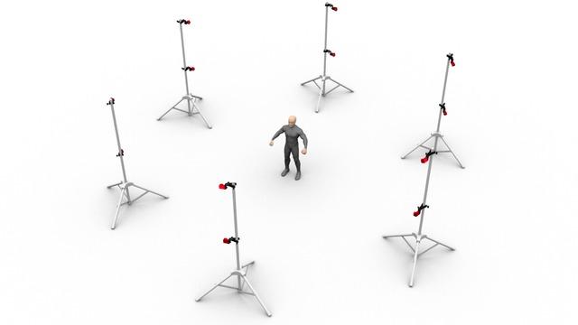 optical motion capture system basic