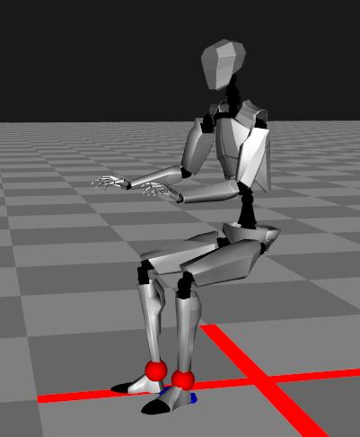 Foot contact mode
