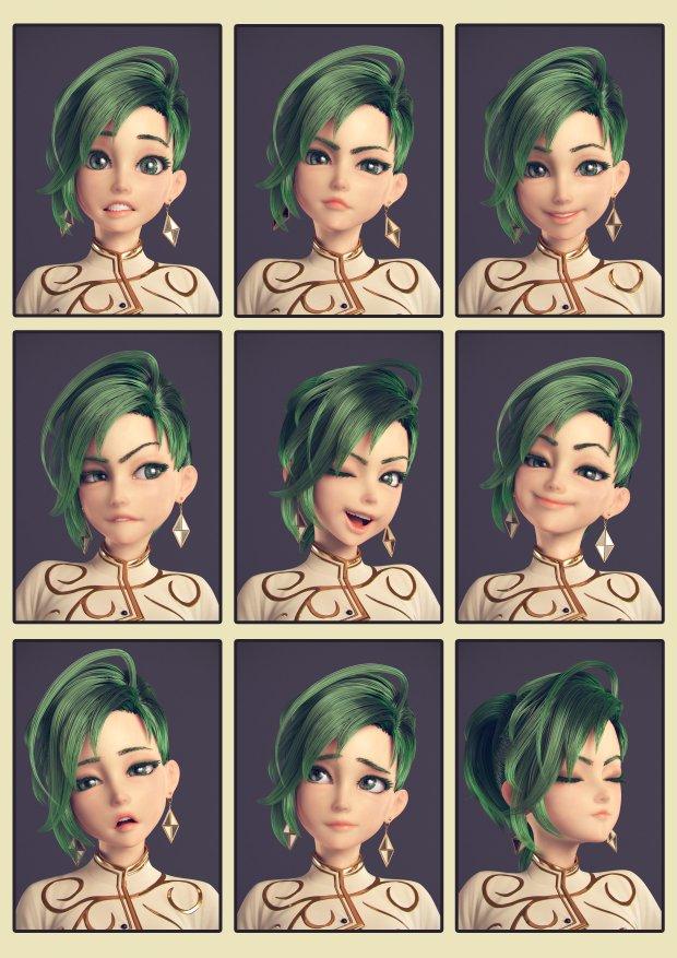 Girl by Shuhei Akaha expressions