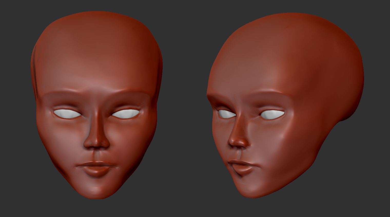 My first good-looking zbrush sculpt