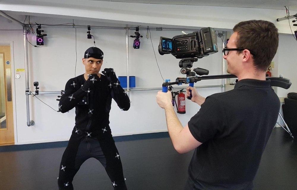 Shogun live cameraman