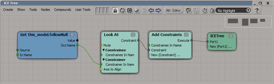lookat-constraint