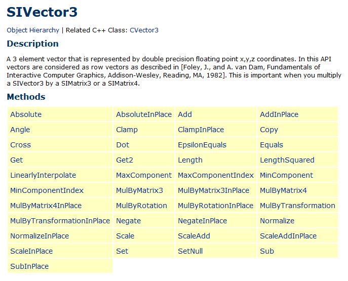 si-vector-object