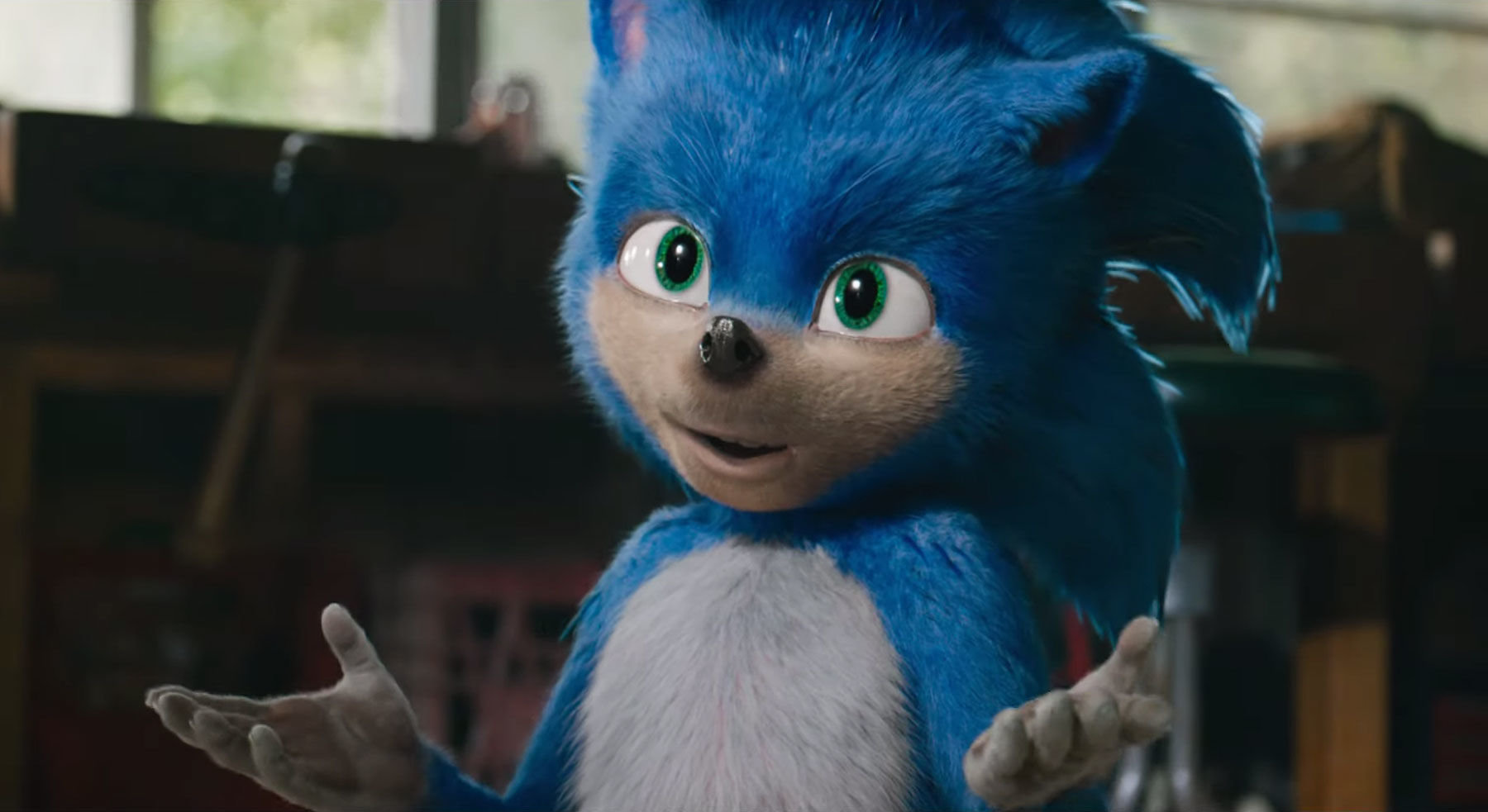Sonic the Movie original design
