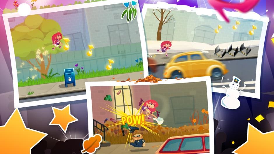 Run and Rock-it Kristie screenshots