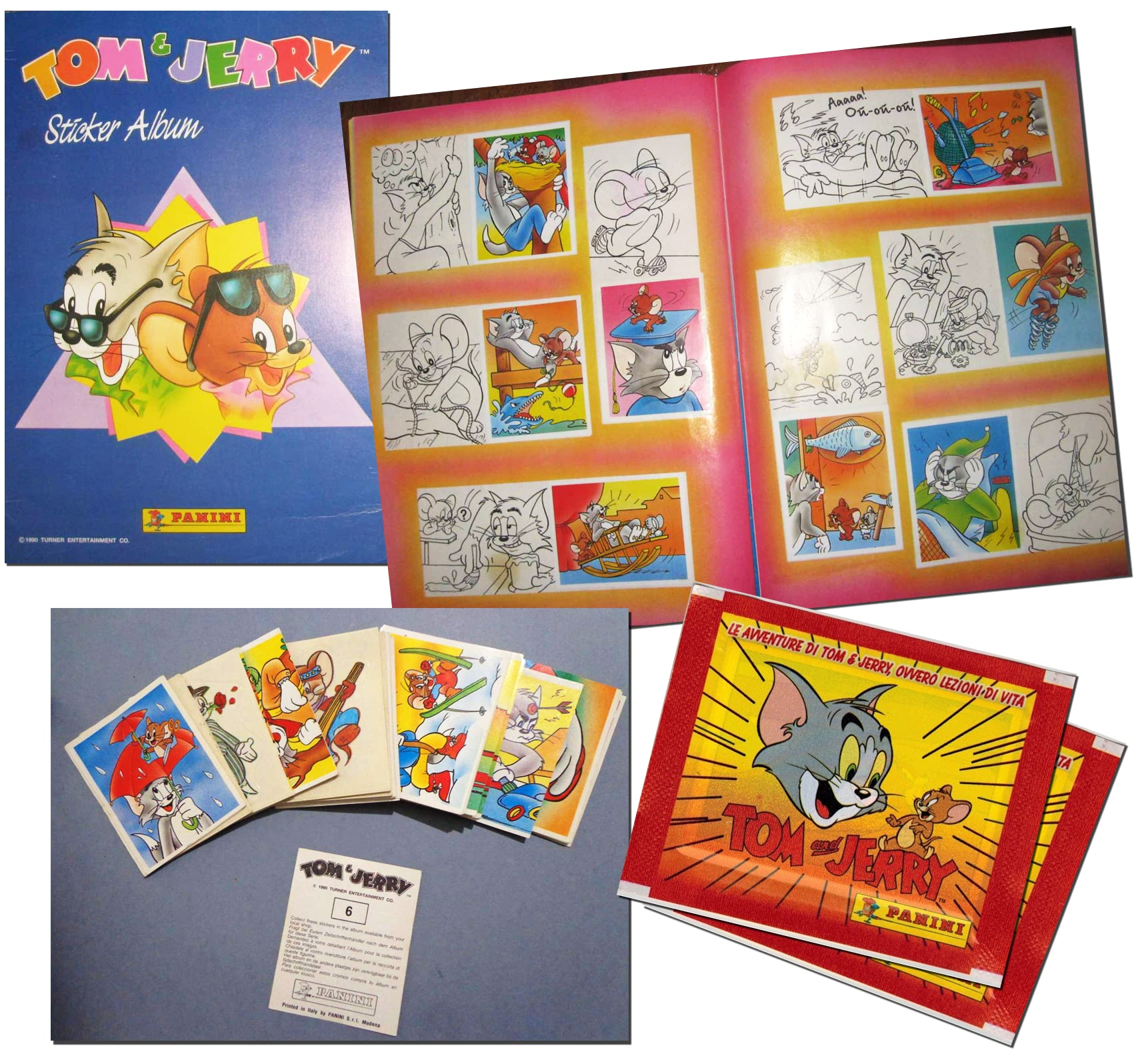 tom-and-jerry-panini-sticker-album