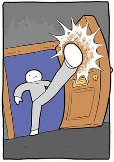 kick open door by deathbulge.com (http://www.deathbulge.com/comics/394)
