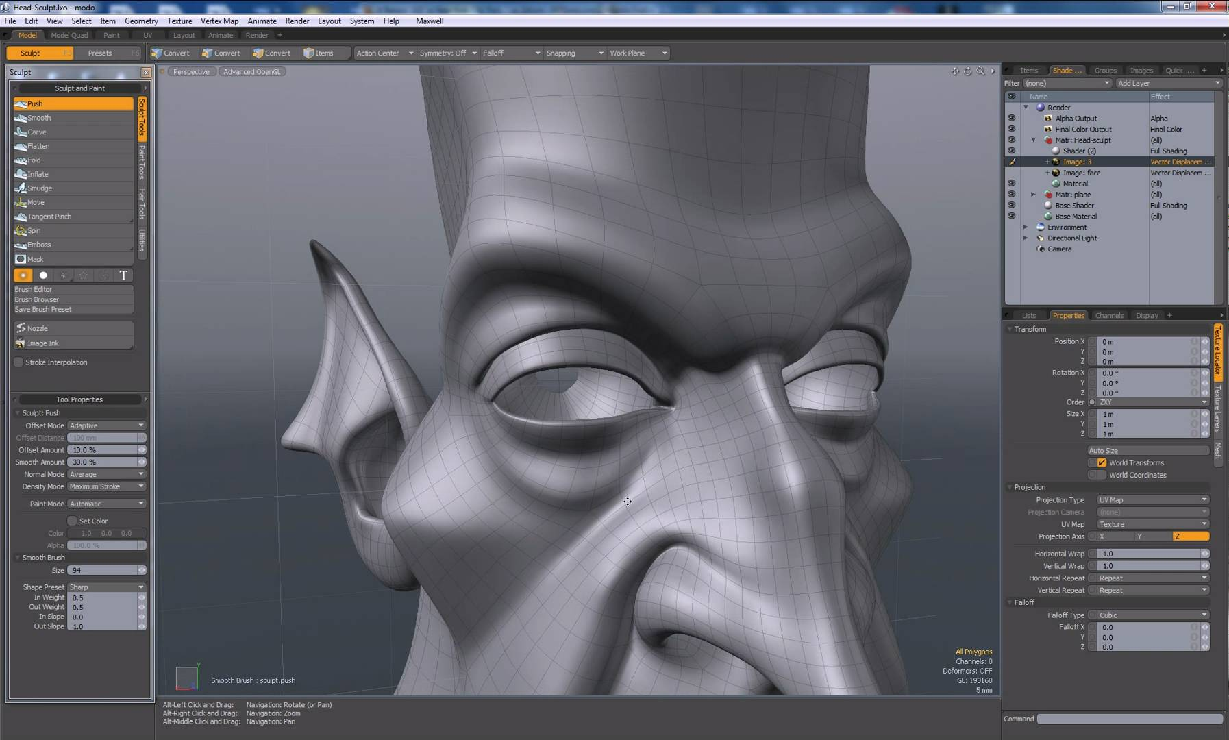 modo-sculpting